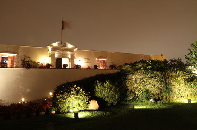 Small-Group Huacas and Larco Museum by Night Including Dinner