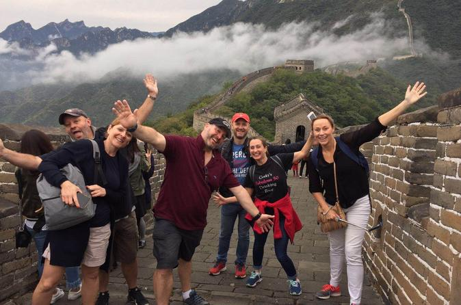 Beijing Layover Small Group Tour to Great Wall & Forbidden City (7AM-3PM)