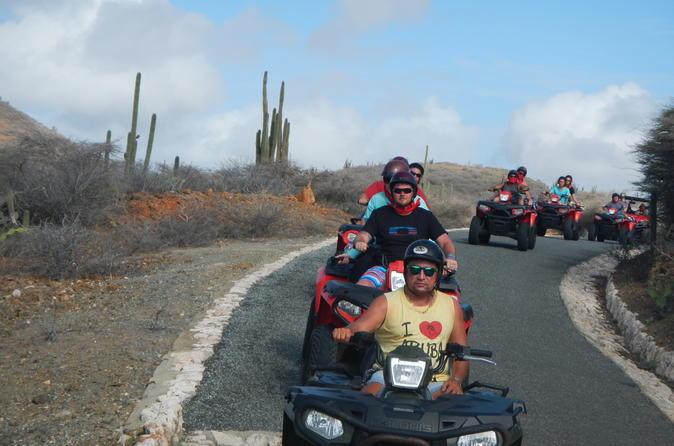 Aruba Shore Excursion: ATV Island Sightseeing Adventure