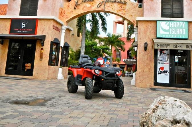 Aruba ATV Tour: Natural Pool, Baby Bridge, Alto Vista Chapel