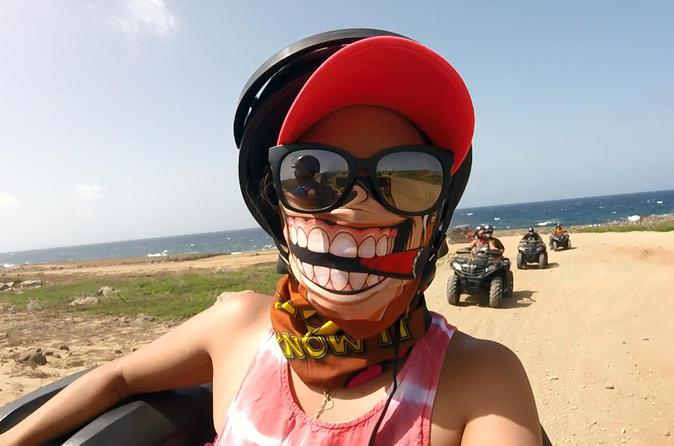 VIP Aruba Sightseeing Tour by ATV