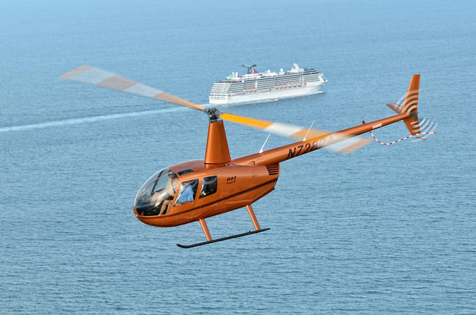 Beachside helicopter tour in cocoa beach 220960