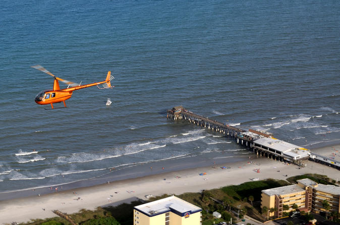 Cocoa beach pier helicopter tour from port canaveral in cocoa beach 222146