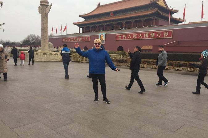 8-9 hours Layover Tour to Mutianyu Great Wall and Forbidden city