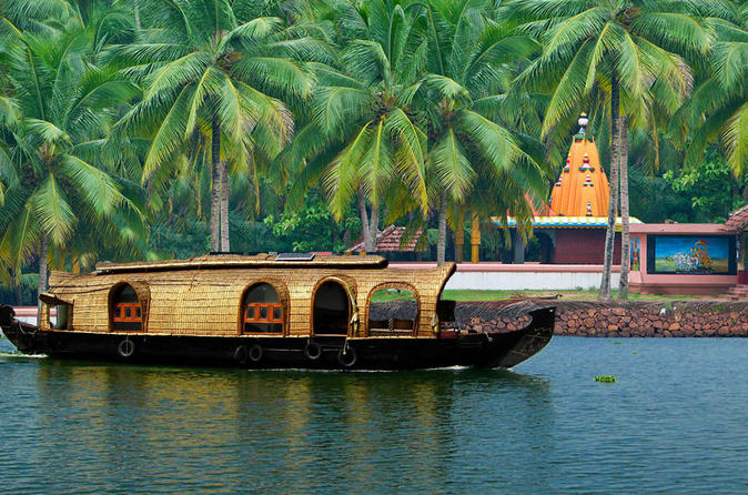 Kochi private tour kerala backwater houseboat day cruise in kochi 188354