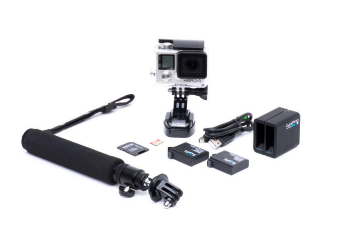 Rent a GoPro HERO Adventure Package
