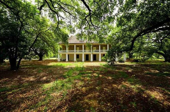 Single: Laura, Oak Alley or Whitney Plantation Tour With Transportation