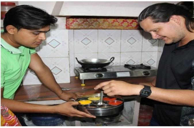 3 Hours Indian Cooking Session  At Local Home