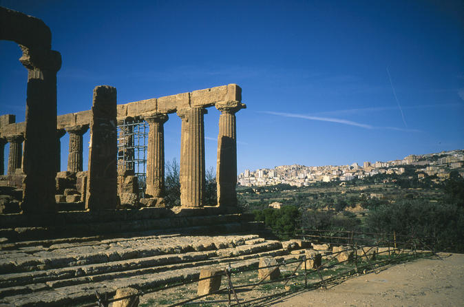 Private tour of Agrigento Temple Valley with lunch in winery  from Syracuse