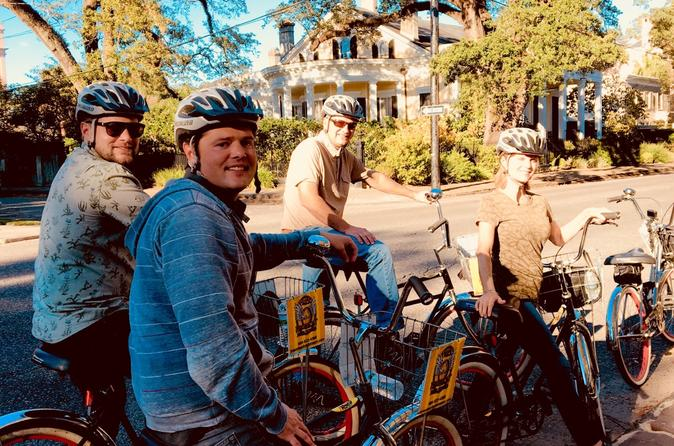 Marigny & Bywater Bike Tour in New Orleans