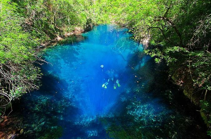 Lagoa Misteriosa Admission Ticket with Scuba Diving Experience