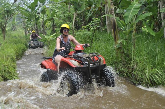 Bali aventura em um quadriciclo