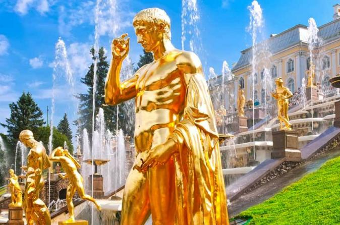 Private Peterhof Gardens Tour