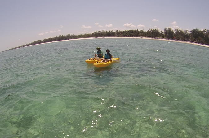 1 hour kayak rental in diani beach in diani beach 281594
