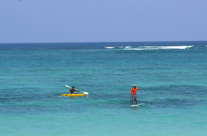 1 hour stand up paddle board rental in diani beach in diani beach 281592
