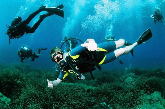 Scuba diving baptism in ibiza in st antoni de portmany 190078