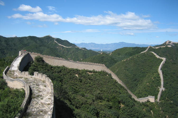 Center Beijing Hotel to Mutianyu Great Wall coach Service with English guide