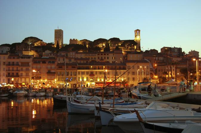 Summer Fireworks and Dinner Catamaran Cruise from Cannes