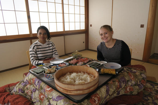 TEMAKIZUSHI (Hand-rolled sushi) experience