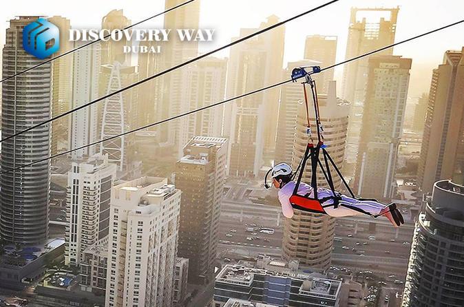 Xline Dubai Marina Longest Urban Zipline