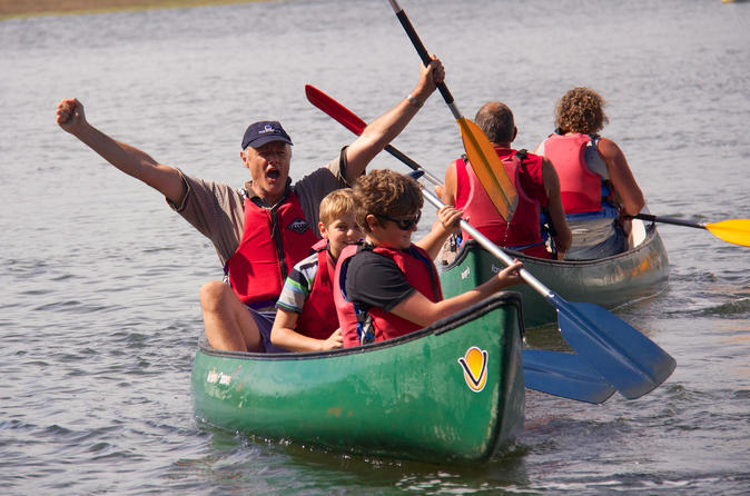 New forest canoeing tour on the beaulieu river in new forest district 185365