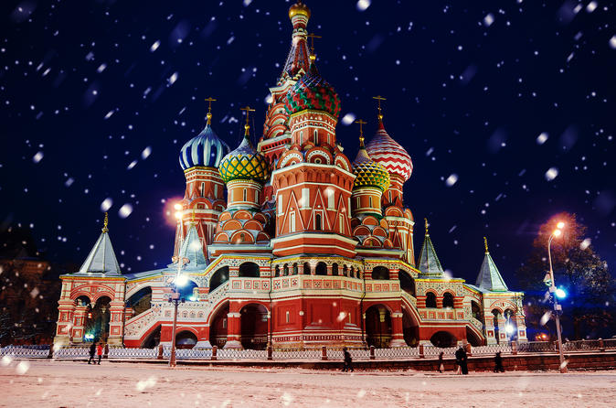 Moscow Luxury River Cruise and Red Square Tour