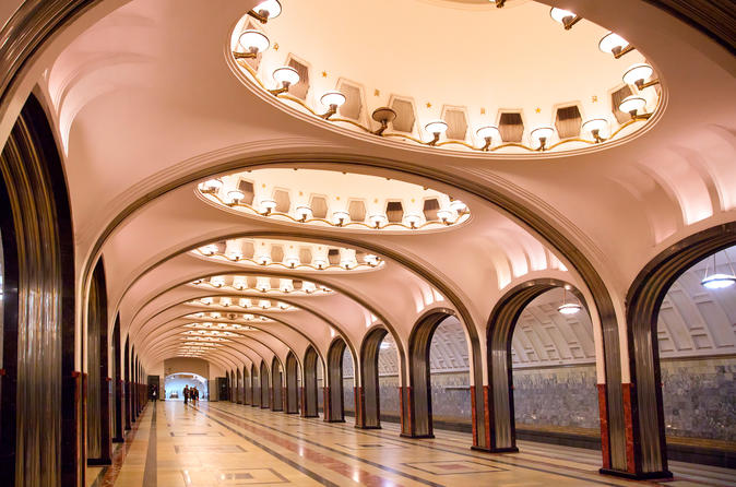Moscow Metro Tour and Bunker 42 with Private Guide
