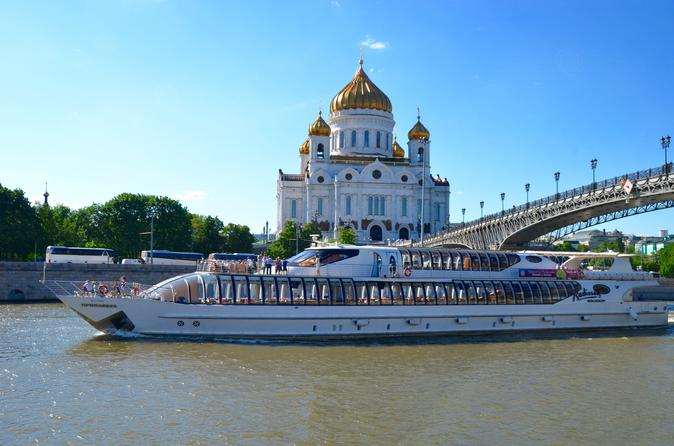Moscow Tour and 3-Hour VIP River Cruise with Private Guide