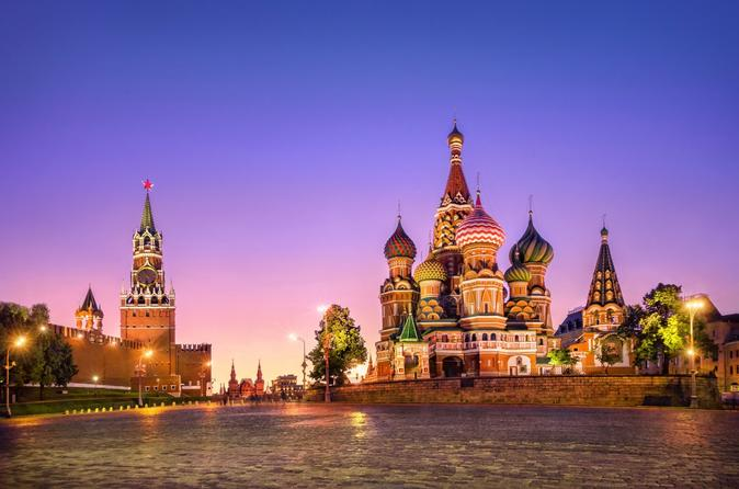 Red Square and River Cruise with Dinner Private Tour