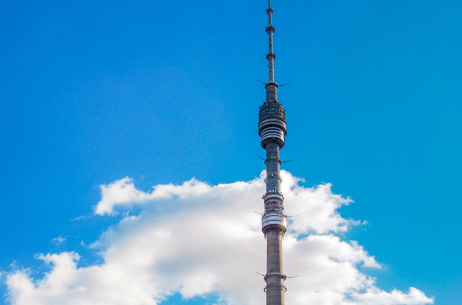 Tour of Ostankino tower inside and VDNKh with a personal guide