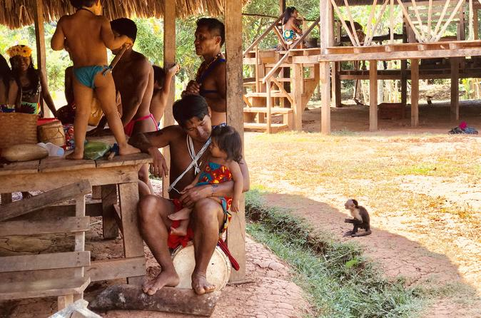 Cultural Exchange with the Embera Community - 1 Night stay -  Humanitarian trip