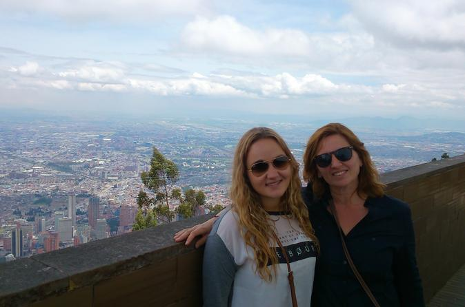 La candelaria and monserrate walking tour in bogota 250693