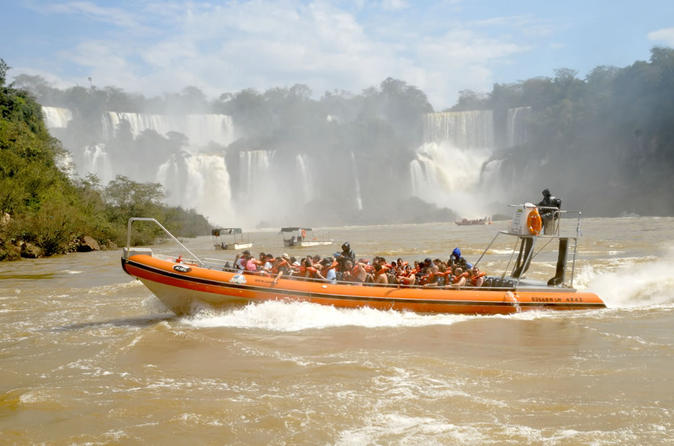Argentinean Falls Great Adventure with Boat Ride from Foz do Iguaçu