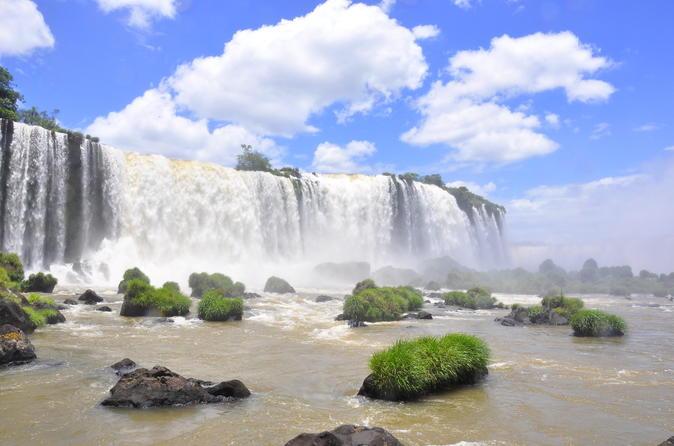Cataratas brasileiras, Parque das Aves e Usina de Itaipu saindo de Foz do Iguaçu