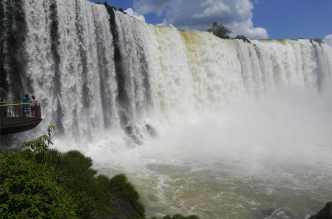 Tour to iguassu falls brazilian side in foz do igua u 184624