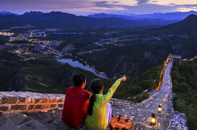 Great Wall Night Tour & Cultural experiencing Gubei Water Town Private Tour