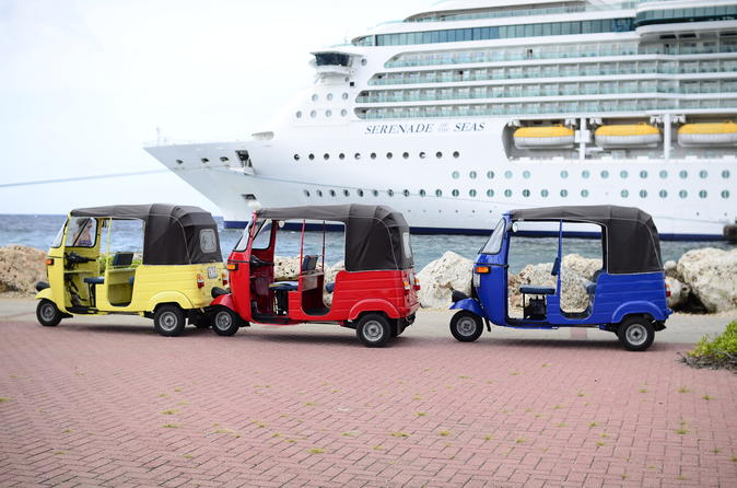 Curacao Shore Excursion: Curacao TukTuk City Tour