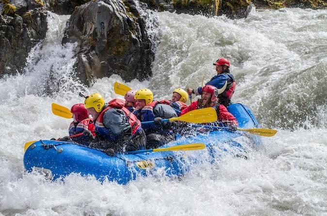 White water rafting day trip from hafgr mssta ir grade 4 rafting on in akureyri 188673