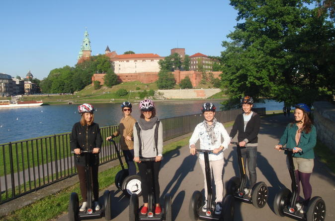 Segway Tour of the Jewish Quarter in Krakow