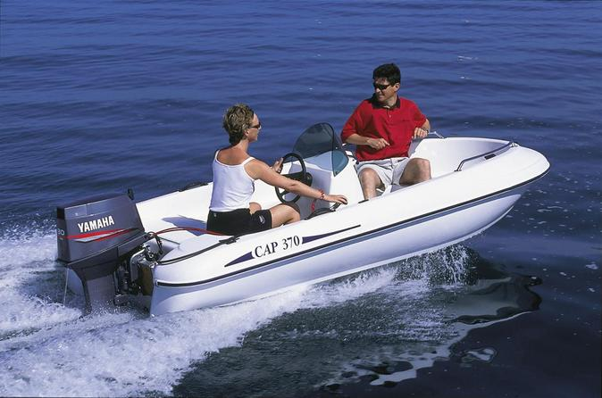 Boat rental up to 4 people in saint tropez no license required in saint tropez 204404