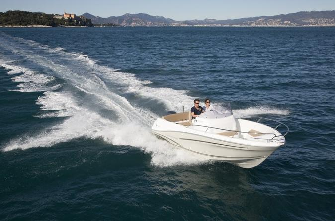 Rent a boat for up to 6 people in menton license required in menton 204396