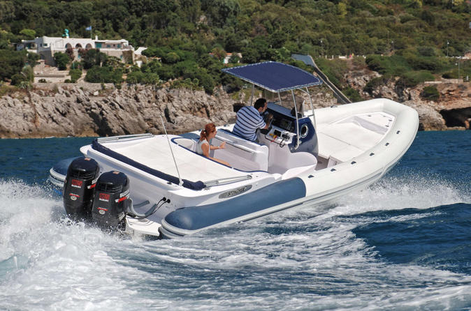 Rent a luxury rigid inflatable boat for up to 12 people in saint in saint tropez 204422