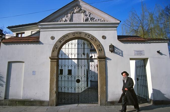 Sightseeing Tour of Krakow's Jewish District Kazimierz: Retracing the Locations in Schindlers List
