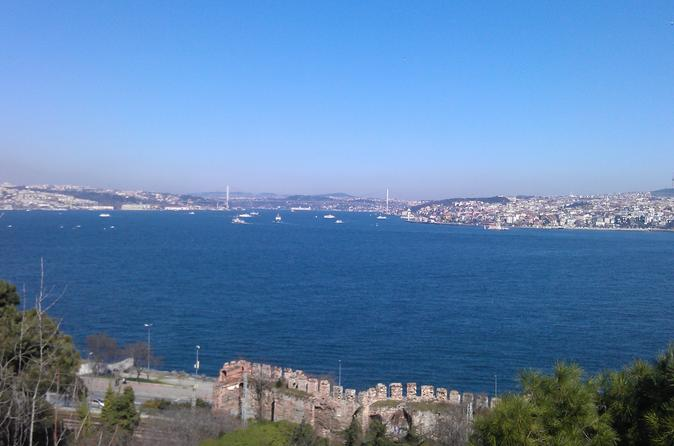 Bosphorus Cruise from Istanbul: Galata Bridge, Golden Horn, Grand Bazaar