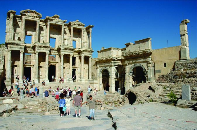 Kusadasi Small Group Trip to Ephesus Including House of Virgin Mary and St John Basilica