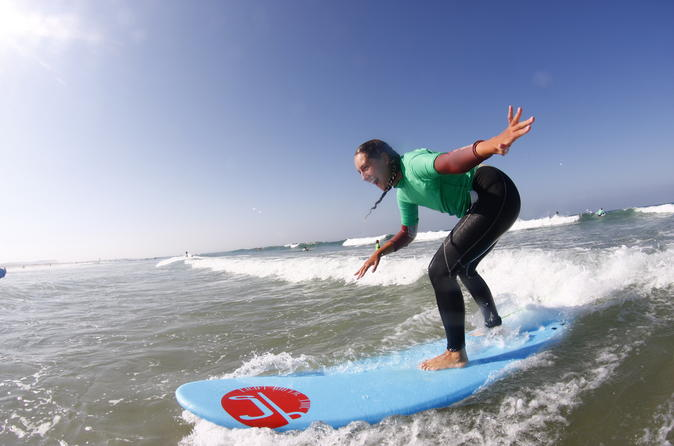 5-Day Surfing Course in Andalucía