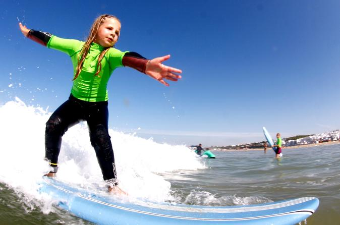 5 days surf course for kids in andaluc a in conil de la frontera 257700