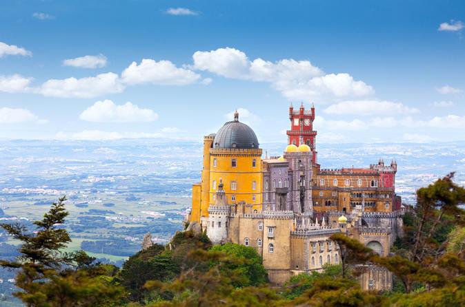 Excursão para grupos pequenos em Sintra e Cascais saindo de Lisboa