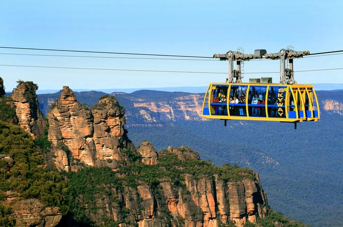 Blue mountains SMALL group one day tour and Wildlife Park and River Cruise
