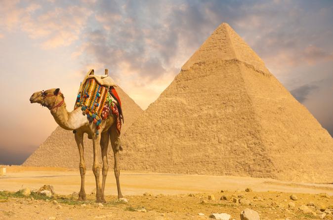 CAIRO COMBO 1:  Tour To Giza Pyramids, Sphinx, Egyptian Museum& Khalili Market